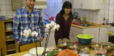 Das Kochen war großartig!